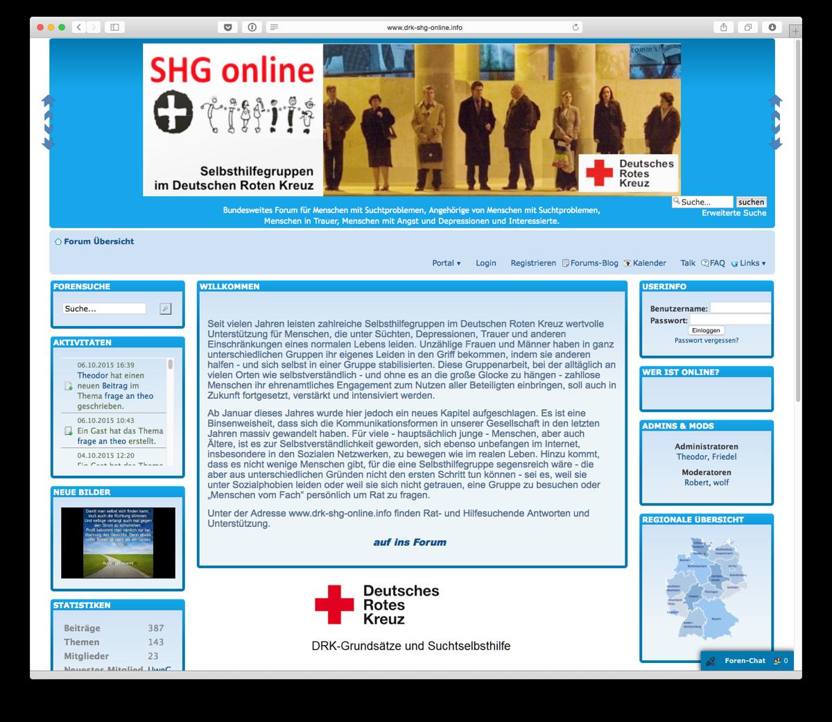 Selbsthilfegruppen Online Forum