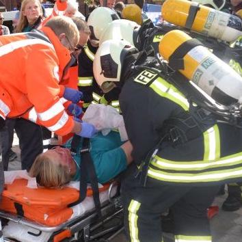Erste Hilfe für Mitglieder der Freiwilligen Feuerwehr