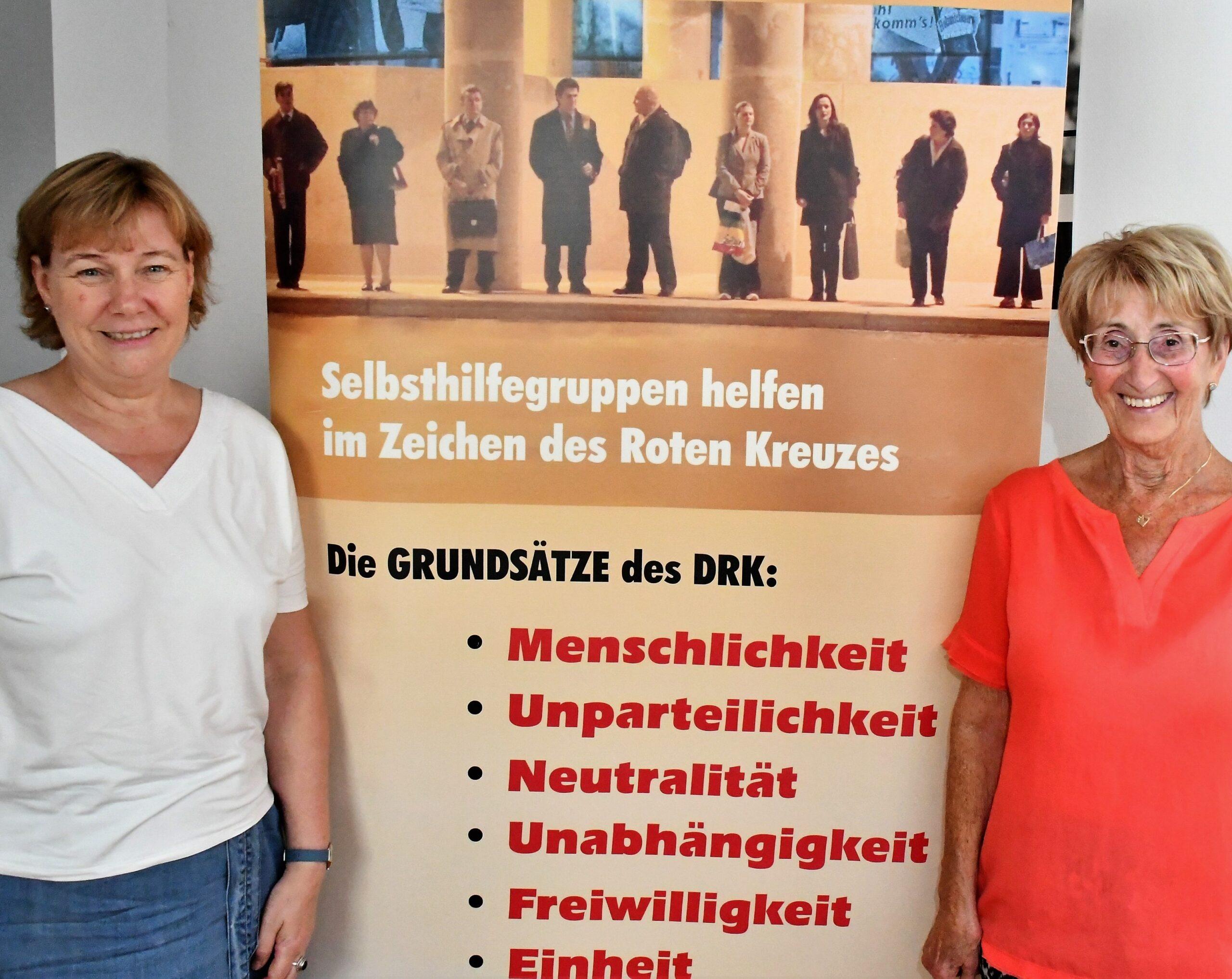 Sozialpädagogin Sonja Braun-Resch (links) und Gruppenleiterin Friedel Weyrauch freuen sich über die neue Kooperation. Foto: DRK Odenwaldkreis